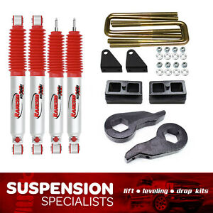 3 Front 2 Rear Lift Kit 2001 2010 Chevy Silverado Gmc Sierra 2500hd 8 Lug