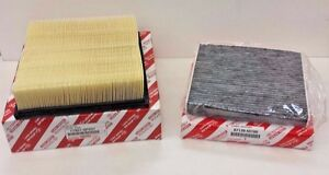 Lexus Oem Factory Charcoal Cabin Filter And Air Filter Set 2010 2015 Rx350