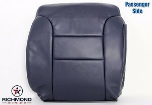 1995 1999 Chevy Tahoe Suburban Passenger Side Lean Back Leather Seat Cover Blue