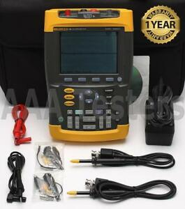Fluke 192 Scopemeter Oscilloscope 60 Mhz Scope Meter 192 003