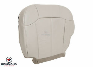 2000 2002 Chevy Tahoe Suburban Lt Ls driver Side Bottom Leather Seat Cover Tan
