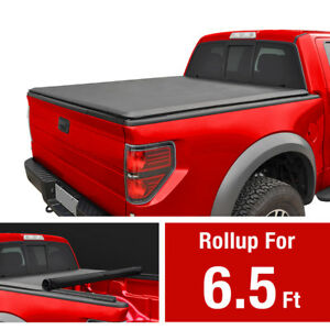 Premium Roll Up Tonneau Cover For 2014 2019 Toyota Tundra 6 5ft Bed