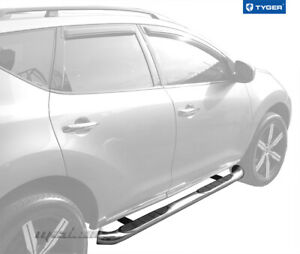 Tyger 3 Stainless Side Step Bars Fit 09 14 Murano excl 2door Model