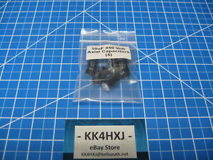 Sc Gha Series Axial Electrolytic Capacitors 450v 10uf 5 Pieces