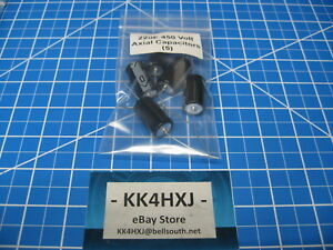 Sc Gha Series Axial Electrolytic Capacitors 450v 22uf 5 Pieces
