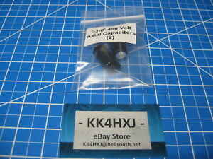 Sc Gha Series Axial Electrolytic Capacitors 450v 33uf 2 Pieces