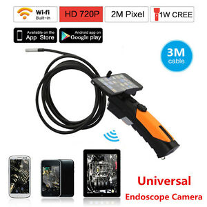 Hd 8 5mm Wifi Endoscope Inspection Snake Camera Borescope For Android Ios Iphone