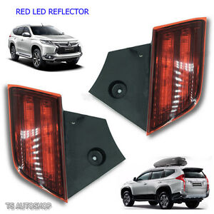 Tail Led Rear Reflector Brake Light For Mitsubishi Pajero Montero Sport 2016 17