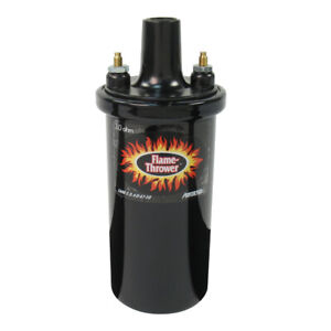 Pertronix 40511 Flame Thrower 40k Volt Ignition Coil Oil Filled 3 O Ohm Black