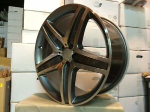 22 Mercedes Benz Mb Amg Style Wheels Rims Suv Ml550 63 New Model