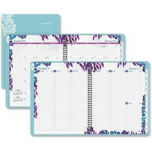 At a glance Wild Washes Weekly monthly Planner 523905