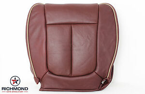 2009 2012 Ford F150 King Ranch driver Side Bottom Perforated Leather Seat Cover