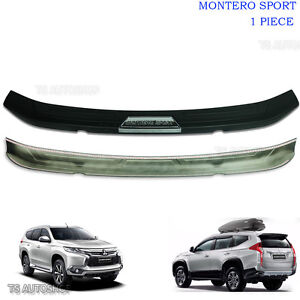 For Mitsubishi Pajero Sport Suv Trim Rear Tailgate Bumper Guards Cover 2016 2017