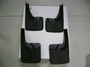 Oem Dodge Ram 2009 2018 Front And Rear Deluxe Molded Splash Guards Mud Flaps