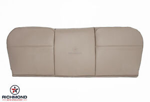 2008 2010 Ford F250 F350 Xl Diesel Utility Bed Bottom Vinyl Bench Seat Cover Tan