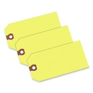 Avery Colored Shipping Tag 4 75 X 2 37 1000 box Yellow ave12325