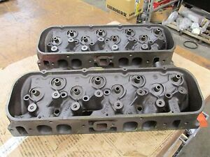 1968 Big Block Chevy 396 427 Oval Port Heads 3917215 215 A 3 8 A 5 8