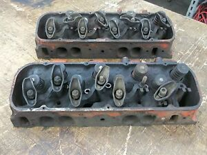 1972 Bbc Big Block Chevy 402 427 454 Oval Port Heads 6272292 292 H 21 71 Stock