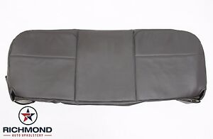 08 10 Ford F350 F450 F550 Jerr dan Tow Truck bottom Vinyl Bench Seat Cover Gray