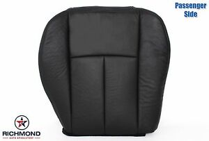 2005 2009 Gmc Envoy Denali Slt Sle passenger Bottom Leather Seat Cover Black
