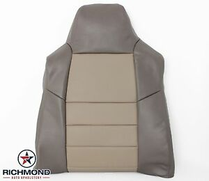 2003 Excursion Eddie Bauer driver Side Lean Back Replacement Leather Seat Cover
