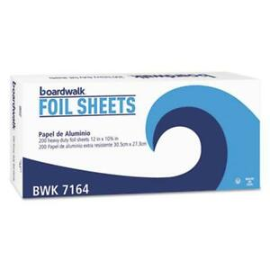 Boardwalk 7164 Pop up Aluminum Foil Sheets 12 X 10 3 4 Silver 2400 carton