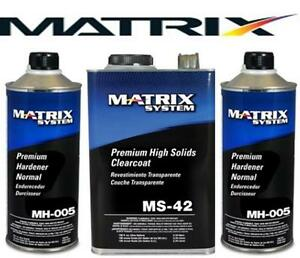 Matrix Ms 42 High Solids Urethane Clearcoat W Mh005 Similar Dcu 2042 Mtxms 42