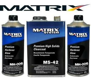 Matrix Ms 42 High Solids Urethane Clearcoat W Mh006 Similar Dcu 2042 Mtxms 42