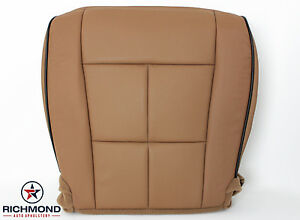 2014 Lincoln Navigator driver Side Bottom Perforated Leather Seat Cover Tan