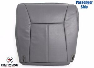 1998 2001 Dodge Ram 1500 St Base Ws Passenger Side Bottom Vinyl Seat Cover Gray