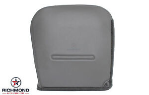 2004 Ford F250 F350 F450 Xl Work Truck Driver Side Bottom Vinyl Seat Cover Gray