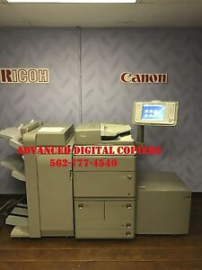 Canon Imagerunner Ir Advance 8205 Copier Printer Scanner Low Meter Must See
