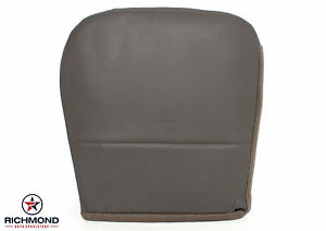 2008 2010 F350 Xl Diesel Service Utility Bed Driver Bottom Vinyl Seat Cover Gray