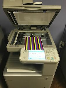 Canon C5240a Tabloid Color Laser Copier Printer Scanner Email Fax Low Meter