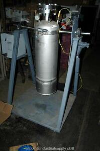 Alloy Products 400 Psi Ss Reactor Portable Pressure Tank Vessel