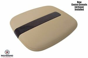 2009 2011 Cadillac Escalade Leather Center Console Lid Cover armrest Compartment