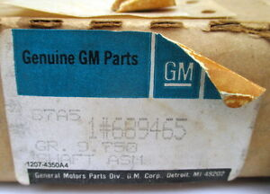 Nos Gm 689465 Tachometer Tach Shaft Cable Assembly Group 9 750 Part