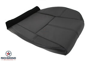 2007 2014 Chevy Tahoe Suburban Lt Ls driver Side Bottom Leather Seat Cover Black