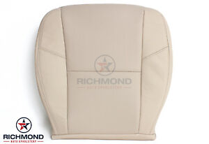07 08 Escalade Heated A c Cooled Seats Driver Bottom Leather Seat Cover Tan