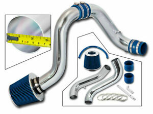 Cold Air Induction Intake Kit Blue Dry Filter For Acura 94 01 Integra Gsr Dc2