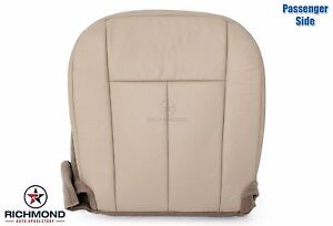2007 2008 2009 2010 Ford Expedition passenger Side Bottom Leather Seat Cover Tan