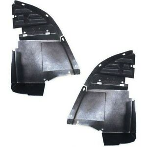 New Set Of 2 Front Lh Rh Side Air Dam Deflector Valance Lower For Chevy Camaro