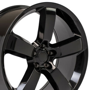 Cp 20 Rims Fit Dodge Challenger Charger Chrysler 300 Srt Black