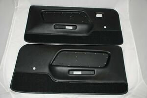 1969 Mustang Deluxe Door Panels Boss 302 Shelby And Mach 1
