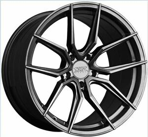 Xxr 559 18x8 5 5x114 3 35 Chromium Black Set Of 4 Rims Wheels