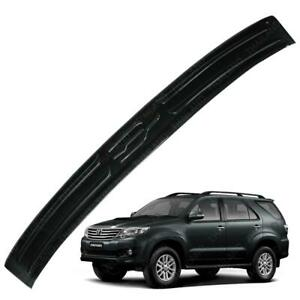 For Toyota Fortuner Crusade 2015 2016 17 Rear Tailgate Bumper Step Cover Carbon