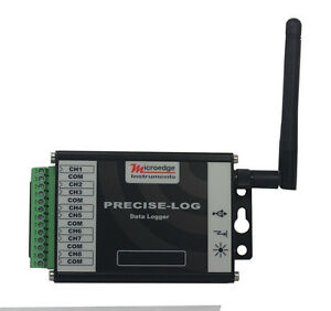 Wifi 8 channel Thermocouple Data Logger Siteview Sofware
