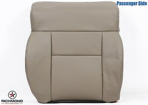2008 Ford F150 Lariat Passenger Lean Back Replacement Leather Seat Cover Tan