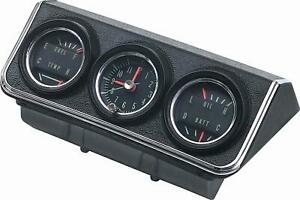 1967 Camaro Console Gauges Assembly