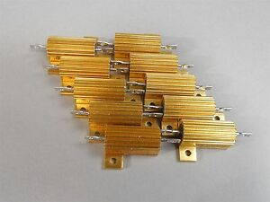Lot Of 10 Pacific Power Resistor 25w 15 New